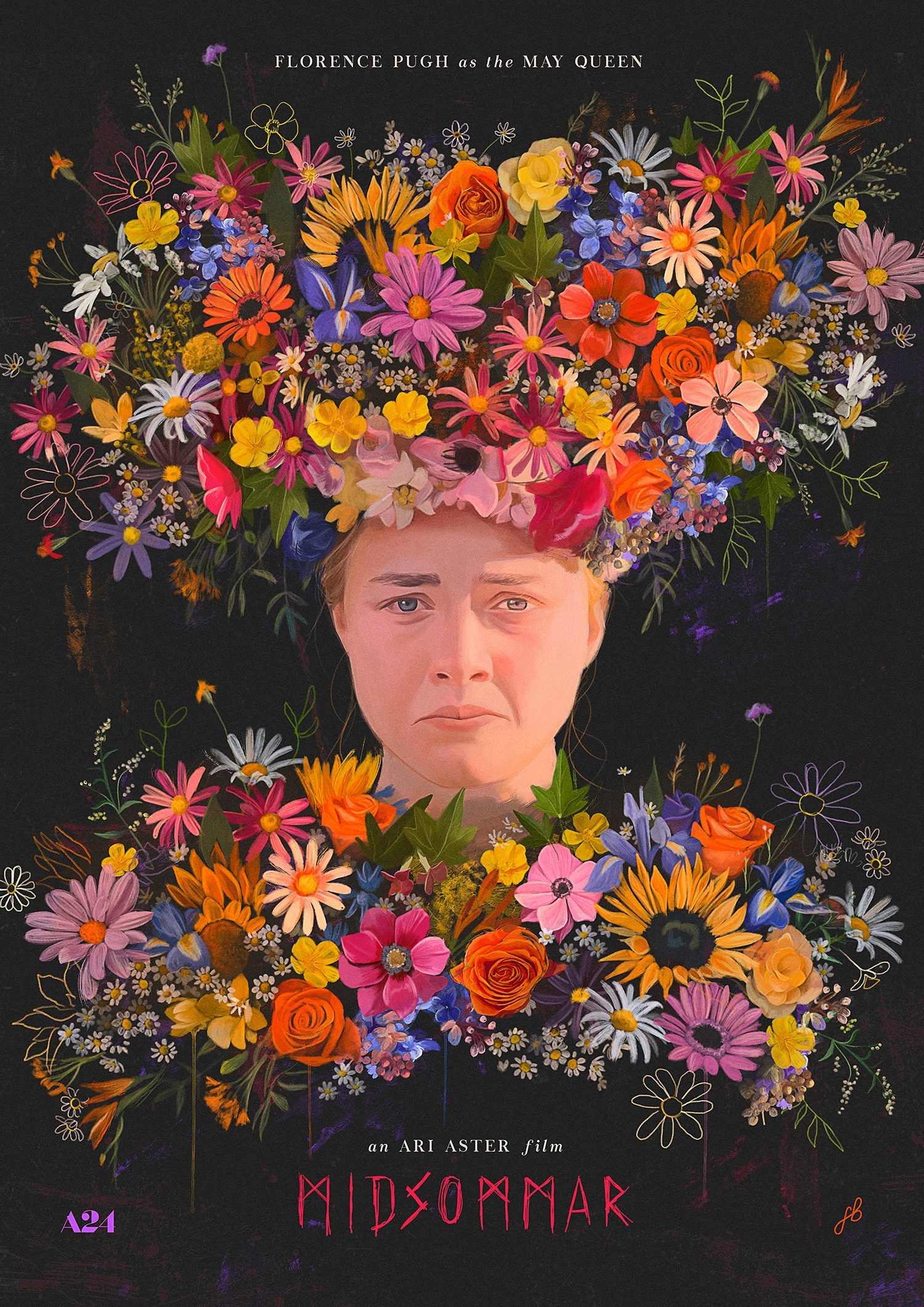 Midsommar 2019 1500 X 2121 Movie Poster Wall Horror Posters