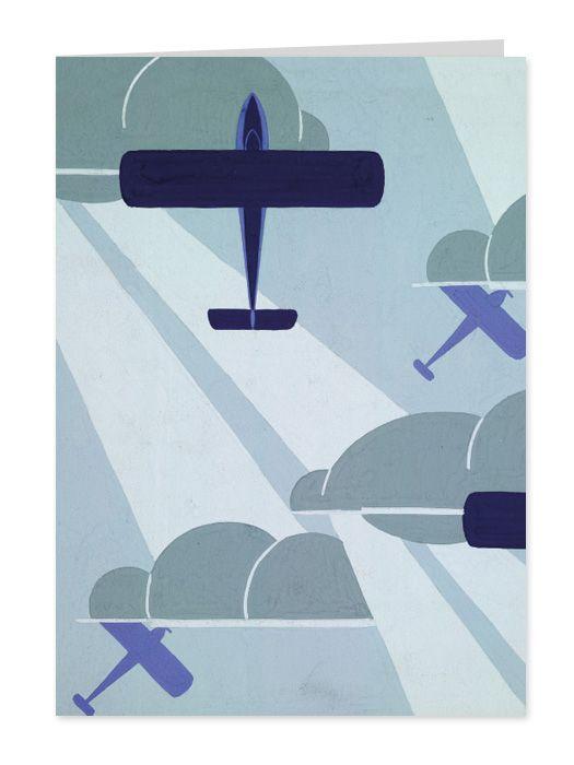 Art Deco Aeroplanes By Raymond Mcgrath In 2019 Art Deco