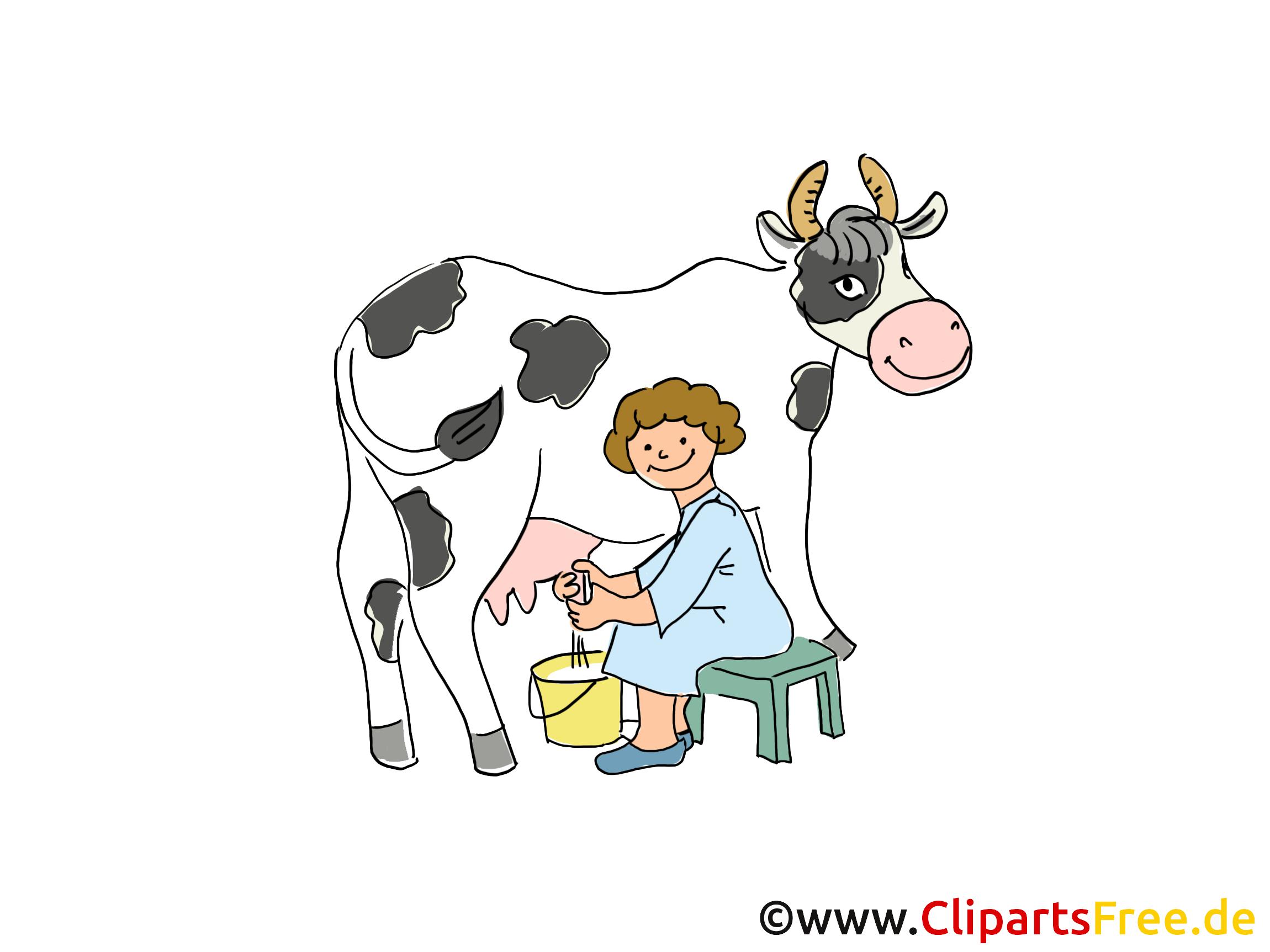 Kuh Melken Clipart Bilder Bauernhof Meine Gemerkten Pins