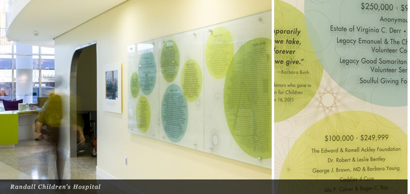 Donor Recognition - Mayer Reed | donor recognition signage ...