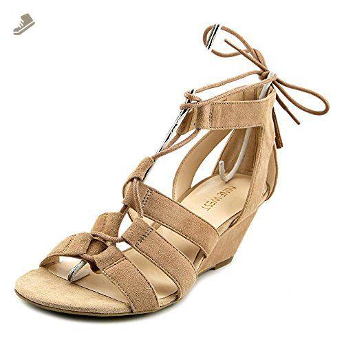8e7615bad626 Nine West 7 Pasa Women US 8 Nude Wedge Sandal - Nine west pumps for women  ( Amazon Partner-Link)