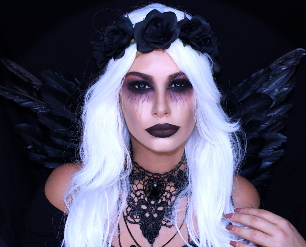 21 simple & pretty look angel halloween makeup ideas | halloween