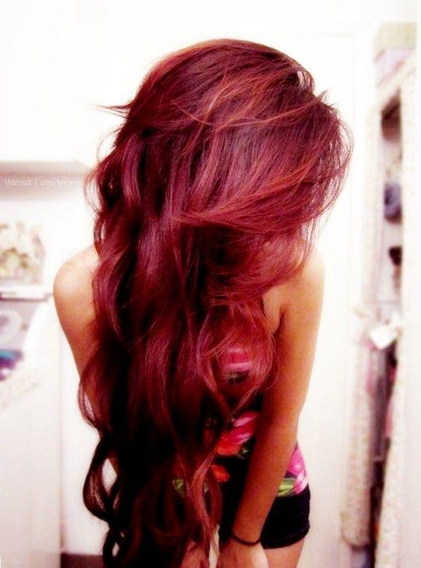 Фото на аву красные волосы