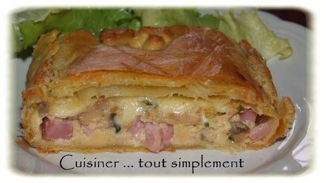 Feuillet__champignons_et_jambon_3 | Tourte au jambon ...