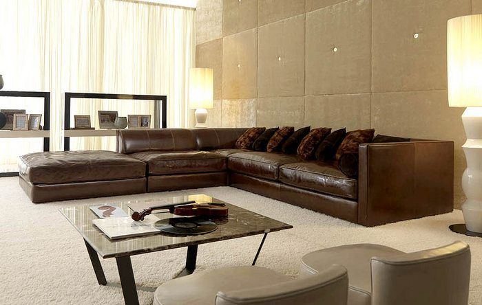 Nice Large Leather Sectional Sofas Best Large Leather Sectional