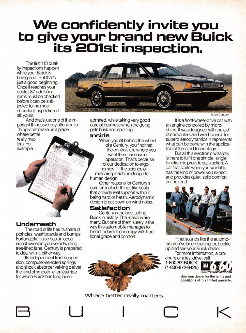 1987 Buick Century General Motors 4 Door Original Magazine Ad Etsy Buick Century Buick General Motors