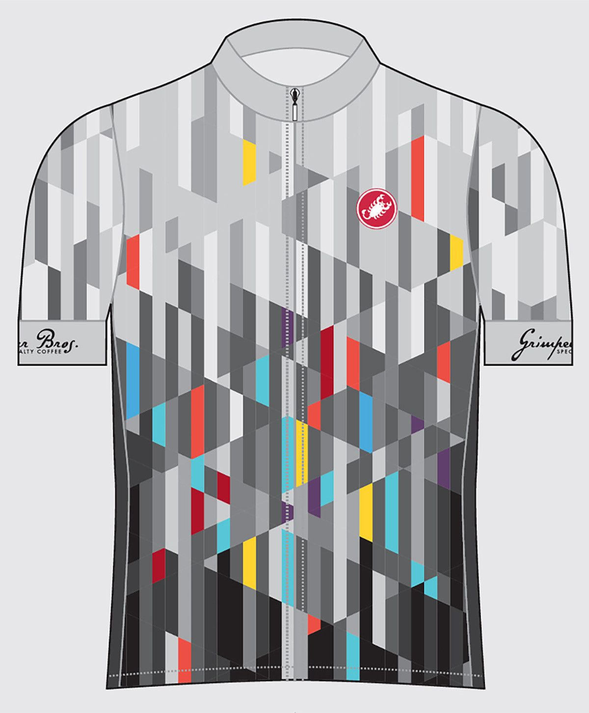Grimpeur Bros. Castelli Cycling Collab Spring-Summer Team Jersey