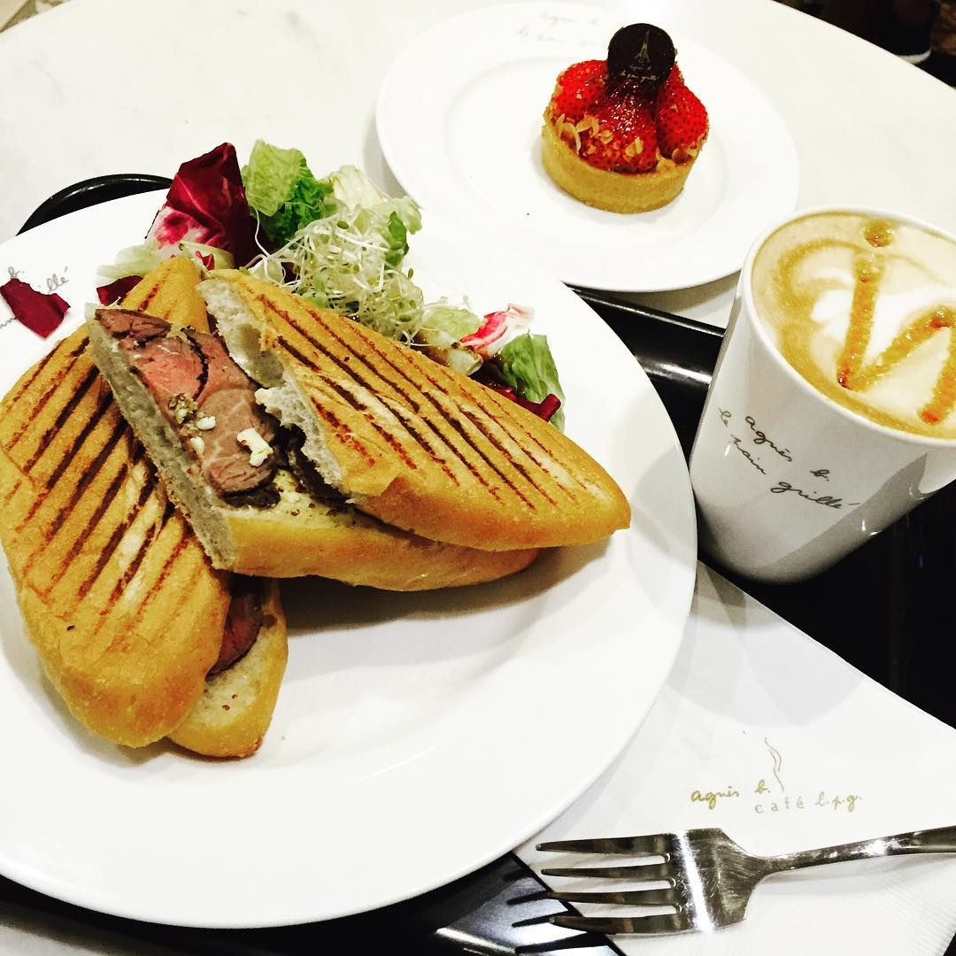 #eat  #toast #coffee #cafe #strawberry #pie #beef #agnesb #lunch #workhard #pr #crazy #life