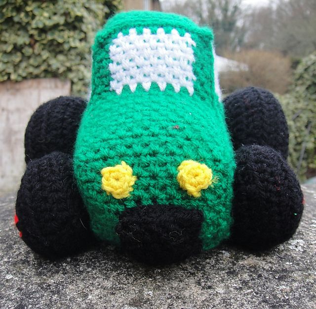 Ravelry: Häkeln Traktor Muster durch Dedri Uys | Crochet - Toys ...