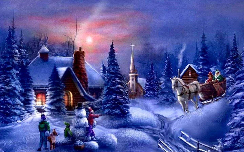 Animated Christmas Wallpaper Ideas Wallpaper Hd Animasi E Card Animated beautiful christmas wallpaper