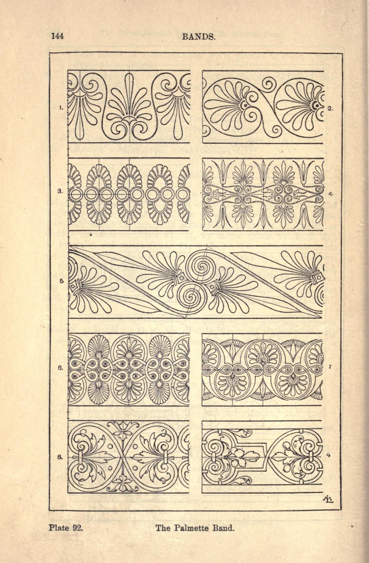 A handbook of ornament | artem et mathematica scientia | Pinterest