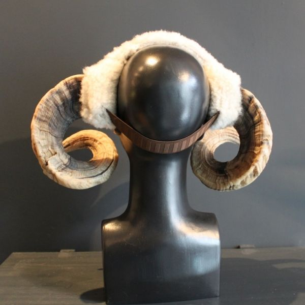 Rams horn headband | Roadkill Couture @ EatonNott