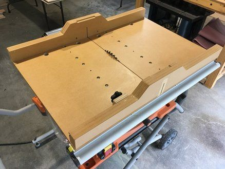 Combination 90 45 Degree Crosscut Sled Conversion Sled Table