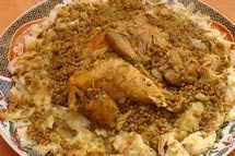 Moroccan Chicken Rfissa - Trid Pastry with Chicken ...