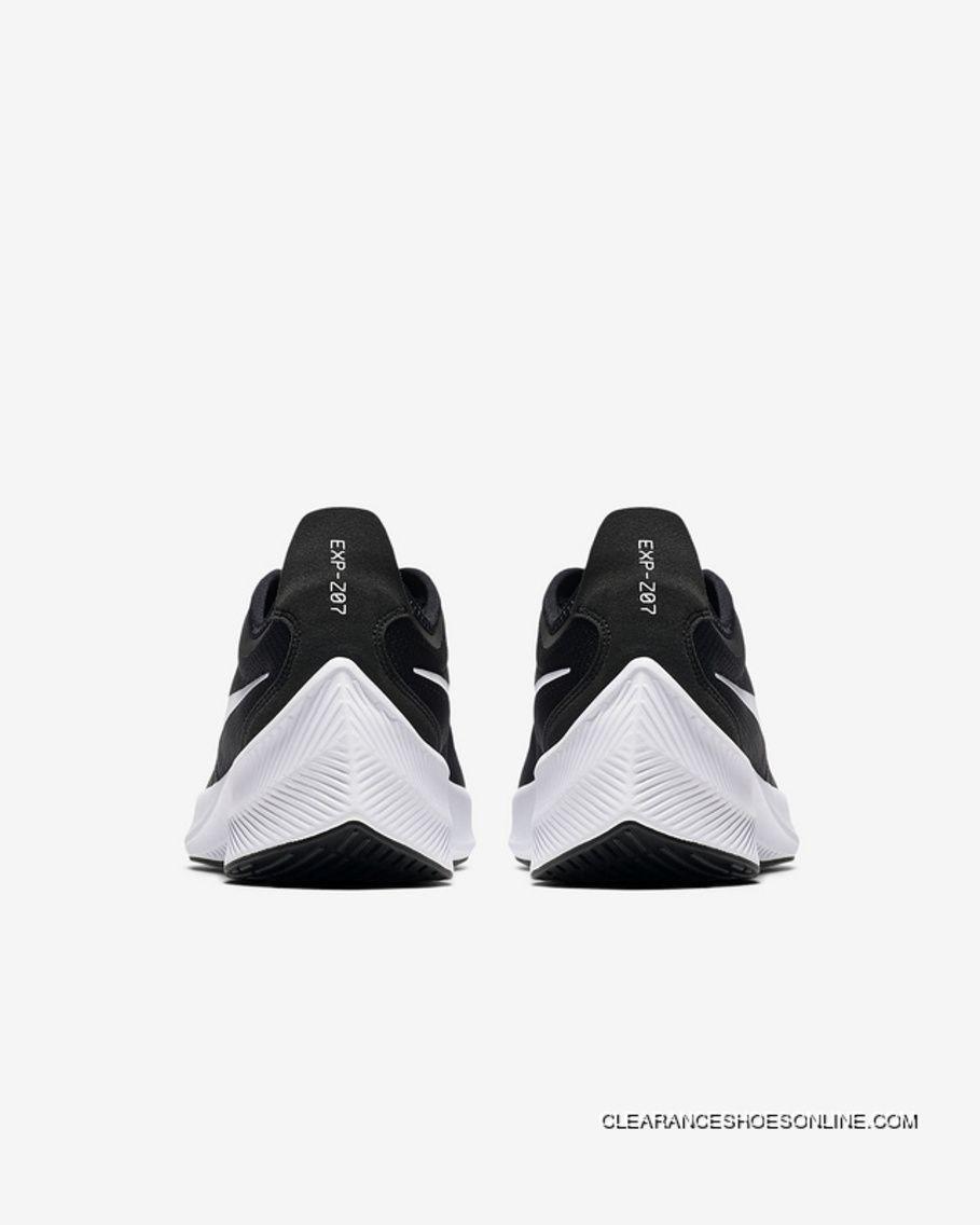 Nike EXP-Z07 Zoom Fly AO1544 004 Mens Running Shoes Black White Latest d62e28c81