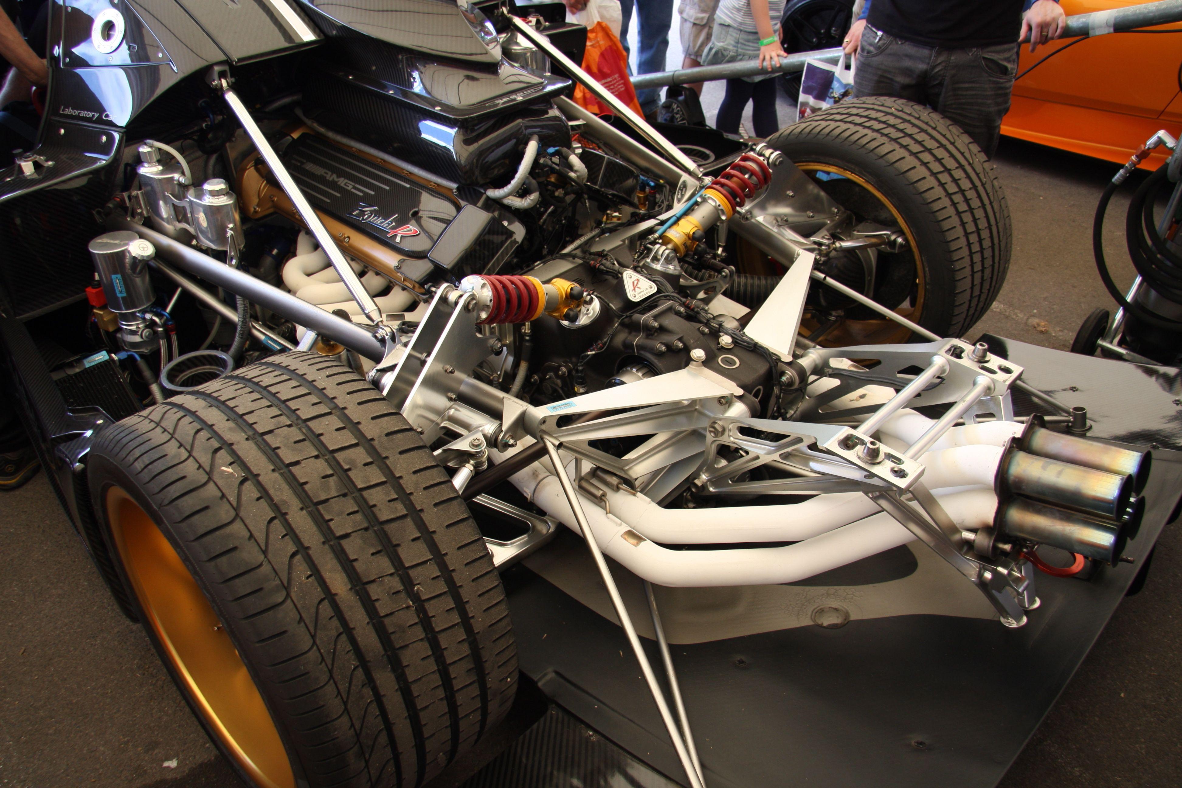 The pagani zonda engine cars and pagani zonda the pagani zonda vanachro Image collections