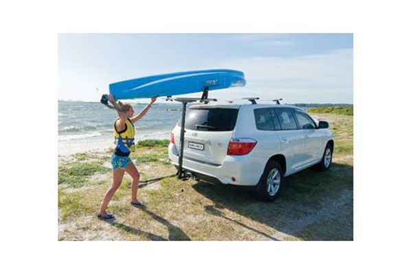 Canoe Roof Rack Rhino T Loader Hitch Mount Kayak Kayak Carrier