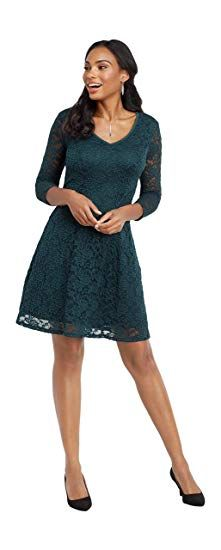 eb045d8fda maurices Women s Lace Skater Dress - Open Back Detail
