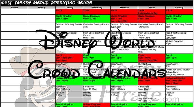 Disney World Crowd Calendar And Park Hours 2020 Disney World Crowd Calendar Crowd Calendar Disney World Park Hours