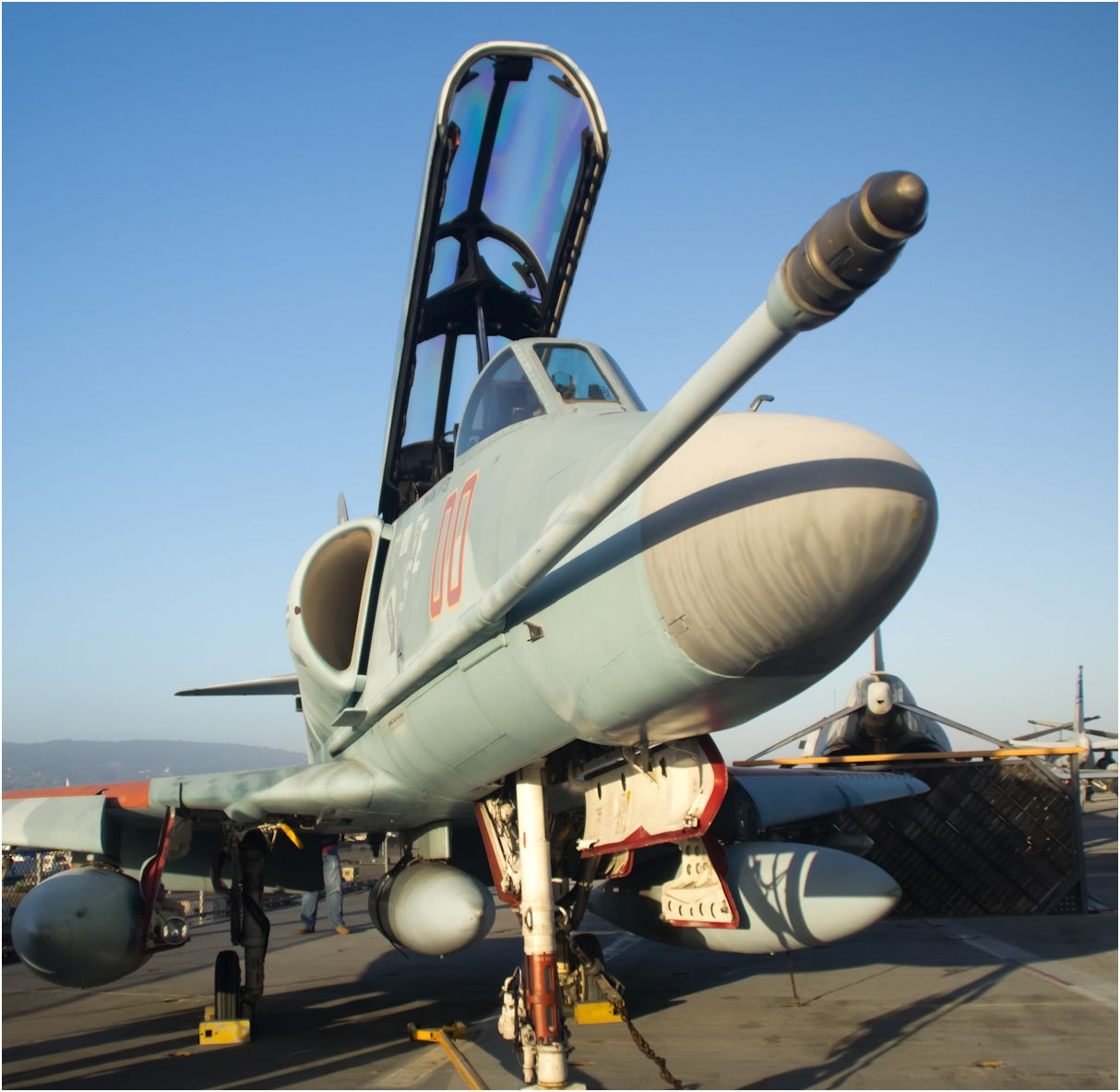 Fighter jet on the USS Hornet | History In Our Midst | Pinterest ...