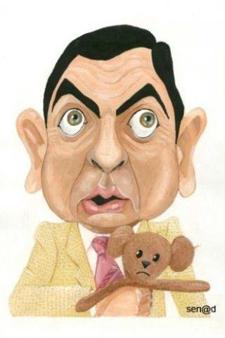 Mr Bean Karikaturen