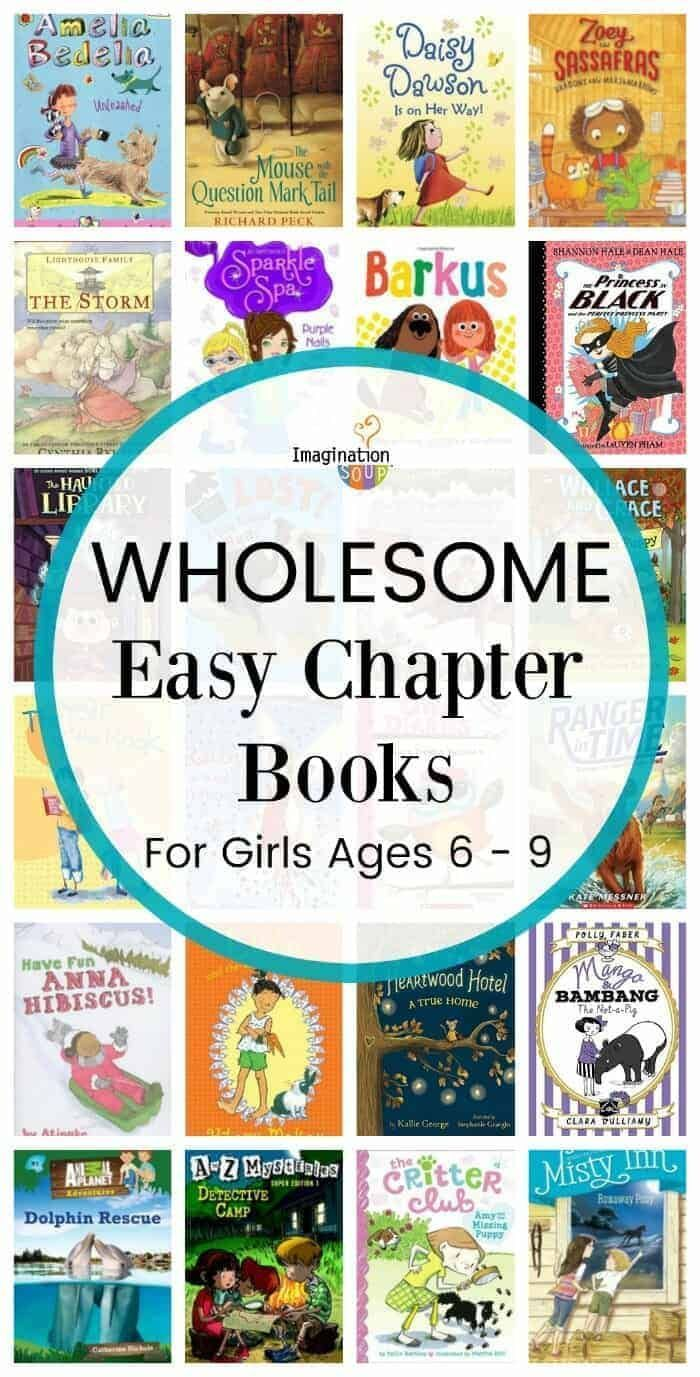 Wholesome Easy Chapter Books for Girls (Ages 6 - 9)