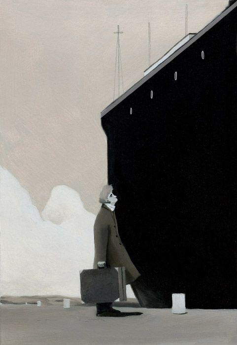 En el Premio Ala Delta 2016 de Edelvives, 'El secreto de Enola', las imágenes de David de las Heras envuelven al texto de Daniel Hernández Chambers para transportarnos a un pueblecito costero de Inglaterra en 1989.