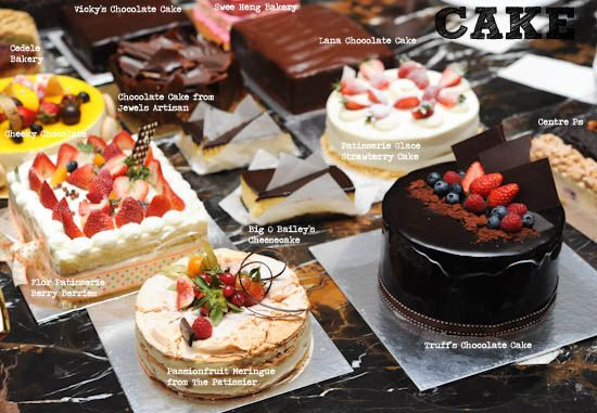 Best Cakes in Singapore | Dessert places, Fun desserts, Bakery