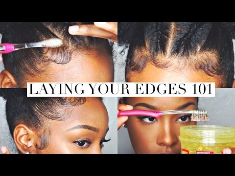 How To Slay Lay Your Edges Baby Hair Tutorial Update Youtube Baby Hairstyles Edges Hair Hair Tutorial