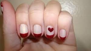 nail art con cuore - Cerca con Google