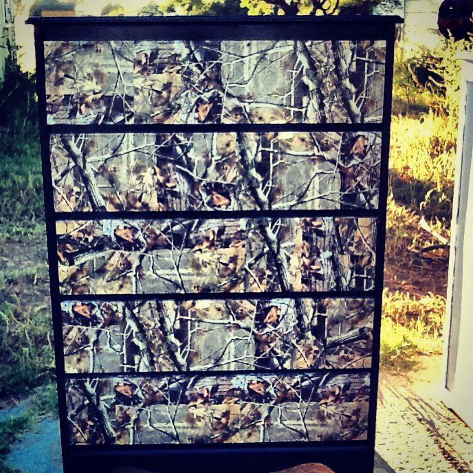 Camo Rooms Camo Boys Rooms And Camo Room Decor: Upcycled Dresser! #camo