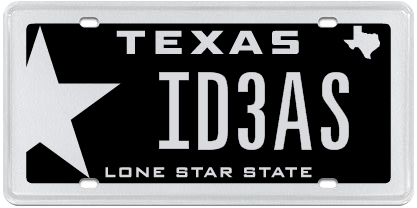 Need Ideas On How To Personalize Your License Plate Check Out Our