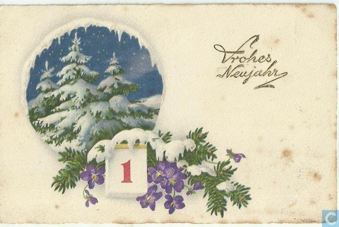 Frohes Neujahr - 1927, Austria