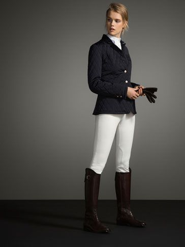 QUILTED JACKET LIMITED EDITION - WOMEN - THE EQUESTRIAN - Austria