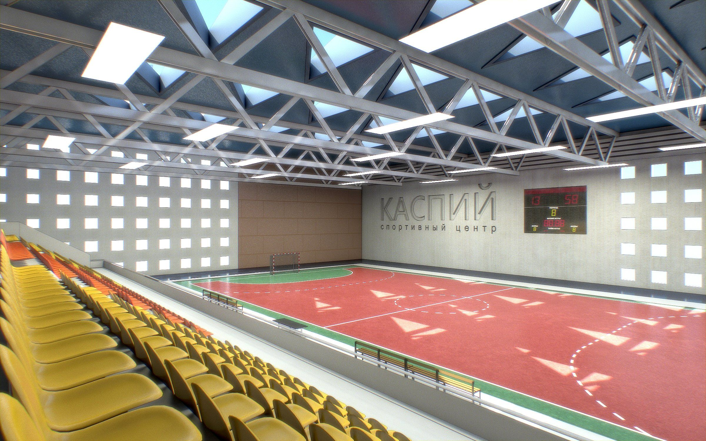 Gym Athletics Interior Gym interior, Architect, Branding