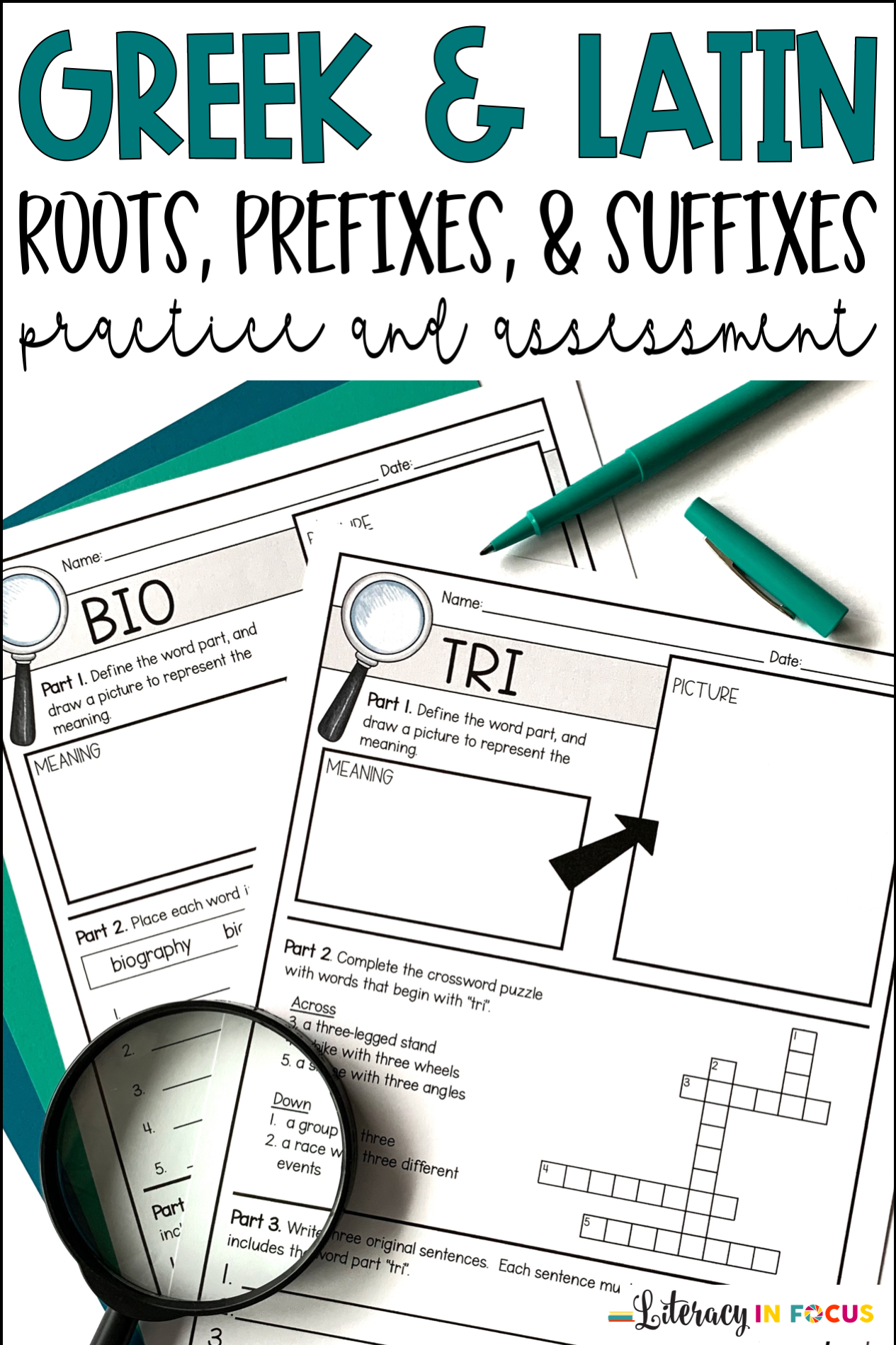 Root Words Prefixes Amp Suffixes Units 1 12 Bundle In