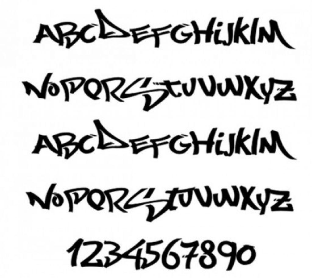 Graffiti Alphabet Letters Arrows Font Graffiti Tagging Graffiti