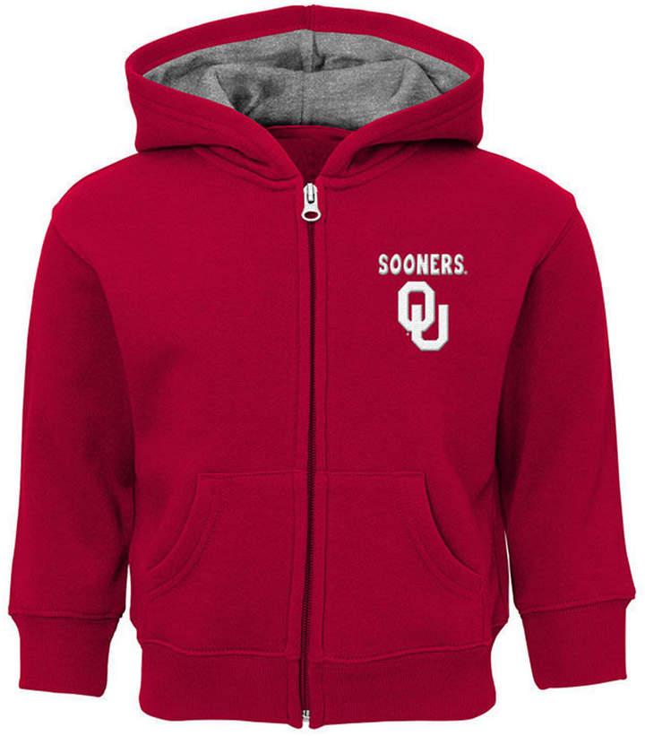 Outerstuff Oklahoma Sooners Red Zone Full-Zip Hooded Sweatshirt ... f2321238b