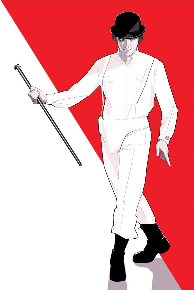 """Alex"" 1/1 Variant by Craig Drake - A Clockwork Orange"