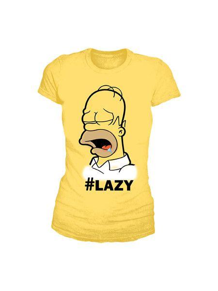 Lazy Homer #Tee -