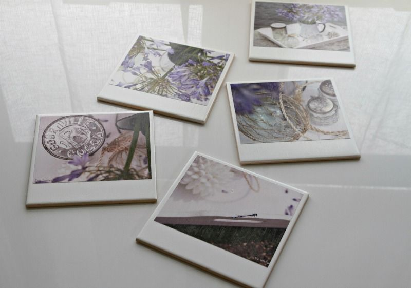Hipstagram Polaroid Photo Coasters