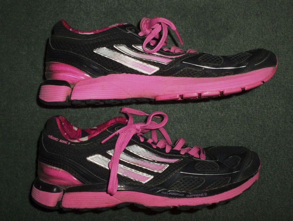 Women's Pink, Black ADIDAS ADIZERO SONIC 3 Athletic