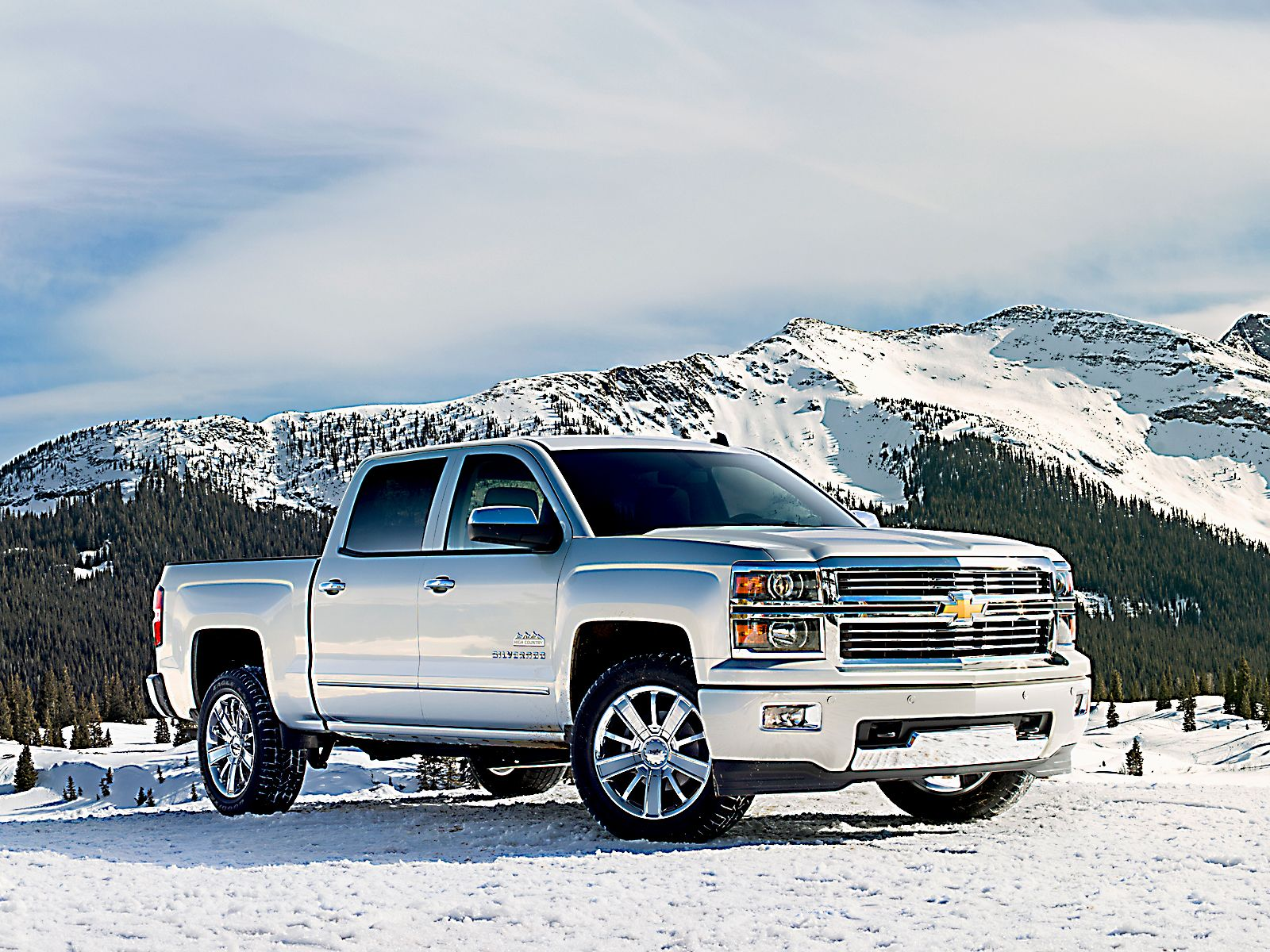 Chevy Silverado The Classier 2014 Silverado High Country