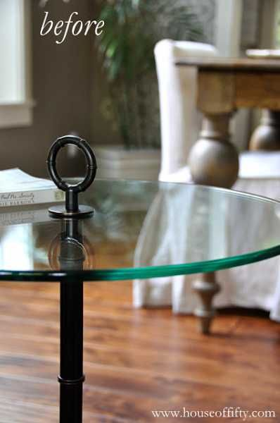 Remove Green Tint From Glass Edge Paint Table - How To Remove Metal From Glass Table