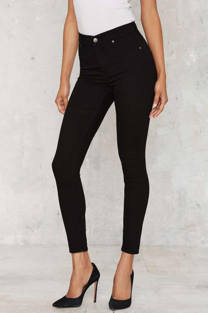 c2e26beebf7d Cheap Monday High Spray Skinny Jeans - Black - Denim
