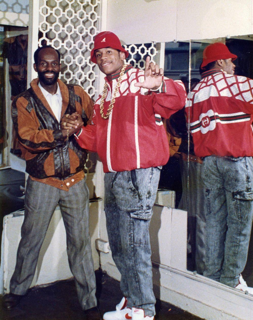 33e8ab310388 Dapper Dan's Designs | 80s NYC Hood Fashion | Hip hop fashion, Hip ...