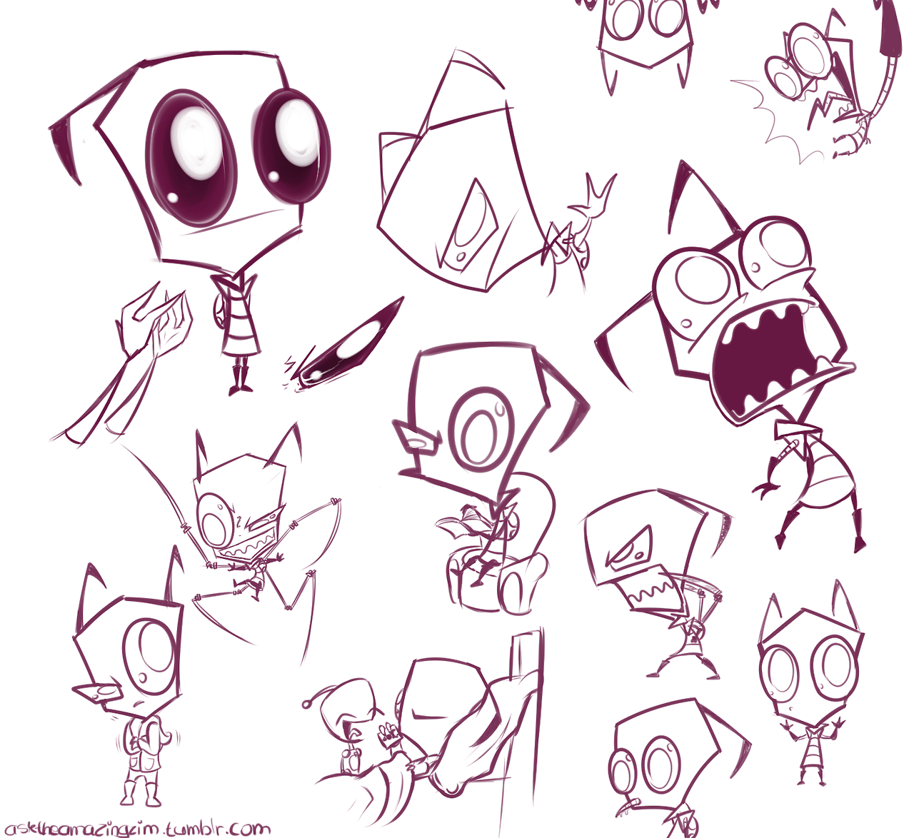 invader zim character by - photo #10