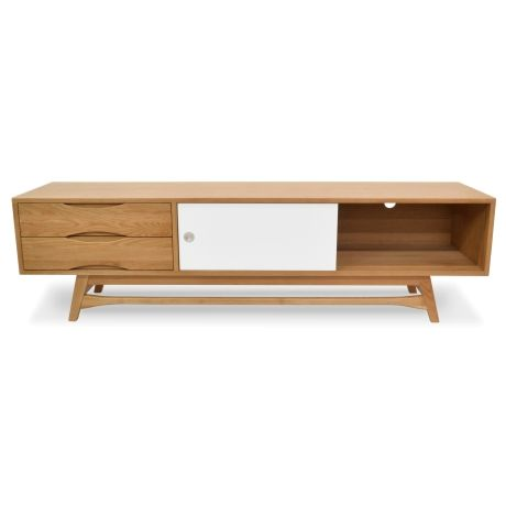ingenious latest tv units designs. Thanks to the ingenious design of Dane TV Unit  versatility as an understatement never made more sense This exceptional entertainment unit repres Entertainment Lowline White and Grey Units