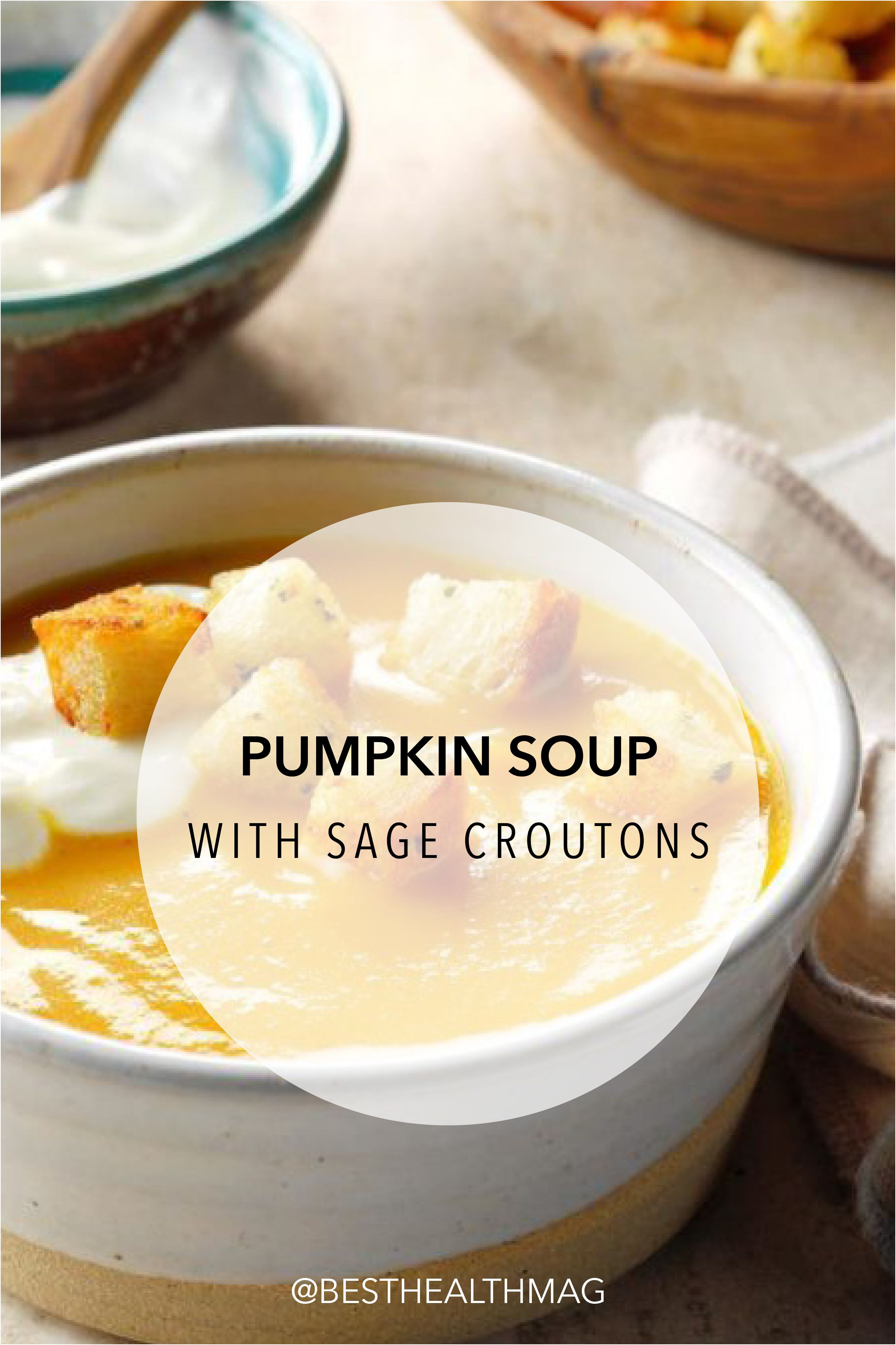 A Dollop Of Sour Cream And A Sprinkling Of Crunchy Croutons Give