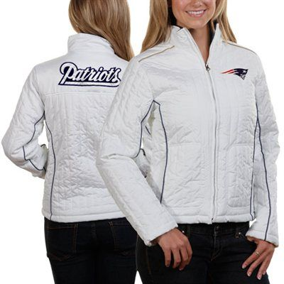 New england patriots white jacket